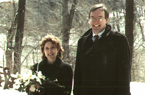 bill and nancy wedding 1989
